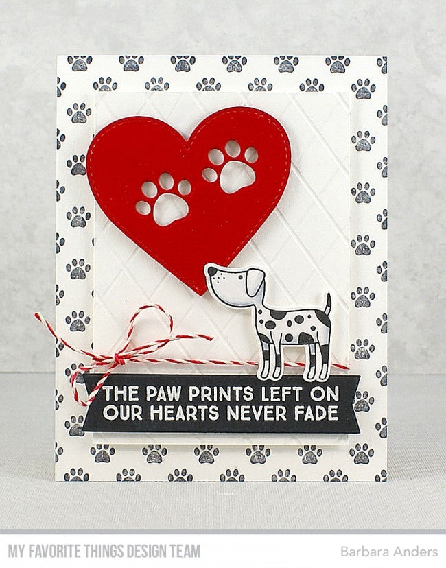 My Favorite Things - Die-namics Paw Prints