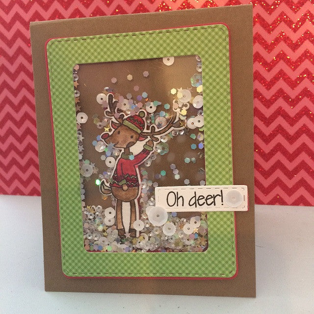 "Pink & Main - Oh Deer Dies (coordinates with ""Oh Deer"" Stamp Set)"