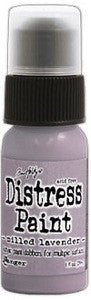 Ranger Tim Holtz Distress Paint 1oz Bottle - Milled Lavender