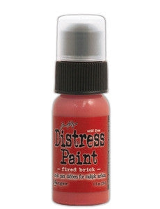 Ranger Tim Holtz Distress Paint 1oz Bottle - Fired Brick