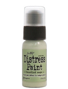 Ranger Tim Holtz Distress Paint 1oz Bottle - Bundled Sage