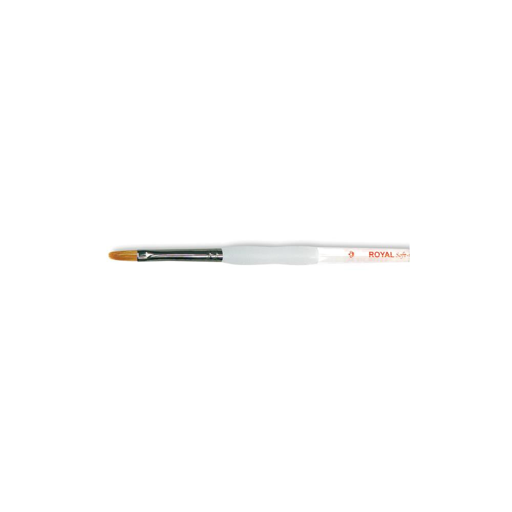 Royal Langnickel Soft-Grip Combo Filbert Brush - Size 4
