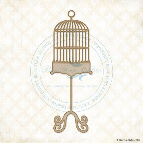 Blue Fern Studios - Chipboard - Polly's Cage