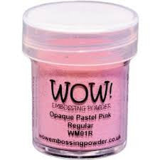 WOW Embossing Powder 15ml - Opaque Pastel Pink