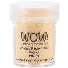 WOW Embossing Powder 15ml - Opaque Pastel Peach