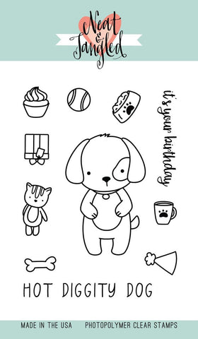 Neat & Tangled - Photopolymer Clear Stamps - Puppy's Favorite Things
