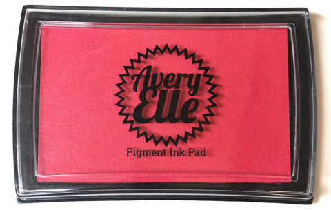 "Avery Elle Pigment Ink Pad - Raspberry  3 1/2"" x 2 1/2"""