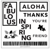 Concord & 9th - Stamp Set - Aloha Friend