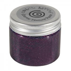 Cosmic Shimmer Textured Sparkle Paste - Rich Plum 50mL Jar