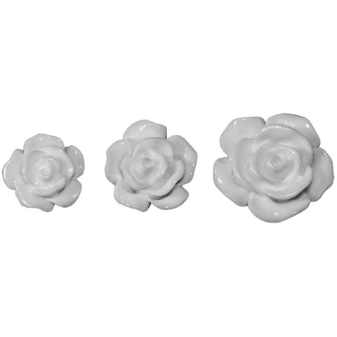 Tim Holtz Idea-Ology - Heirloom Roses (White)