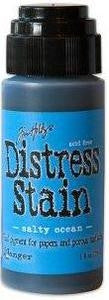 Ranger Tim Holtz Distress Stain 1oz - Salty Ocean