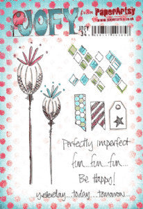 PaperArtsy - Designed by Jo Firth-Young (A5 stamp set, trimmed, EZ mounted) - JOFY34