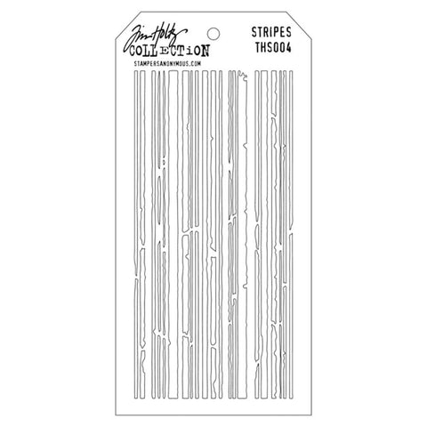 Stampers Anonymous - Tim Holtz - Layering Stencil -  Stripes