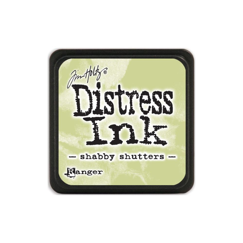 Ranger Tim Holtz Distress Mini Ink Pad SHABBY SHUTTERS