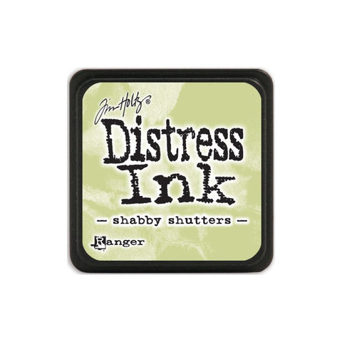 ***New Item*** Tim Holtz Distress Mini Ink Pad SHABBY SHUTTERS Ranger