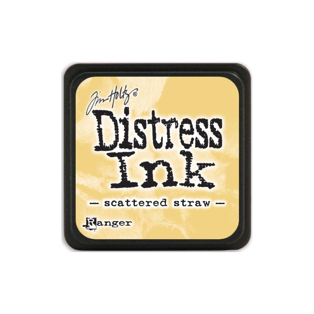 Ranger Tim Holtz Distress Mini Ink Pad SCATTERED STRAW