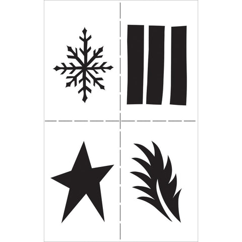 "***Pre order*** Ranger Dyan Reaveley's Dylusions Stencils 5""X8"" - Shapes"