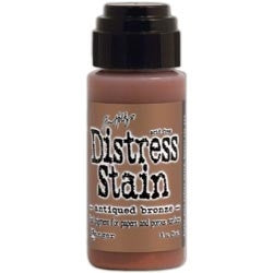 Ranger Tim Holtz Distress Stain 1oz - Antique Bronze