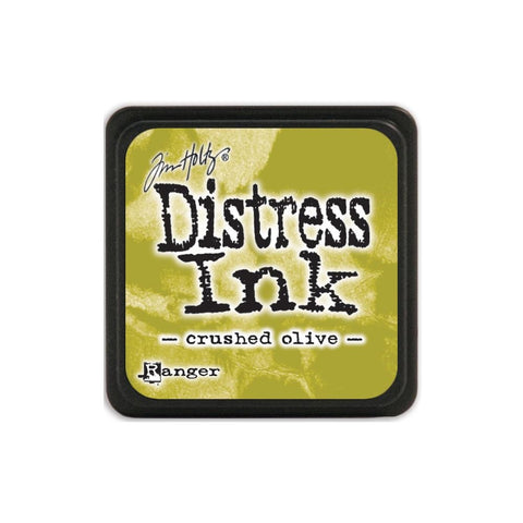 ***New Item*** Tim Holtz Distress Mini Ink Pad CRUSHED OLIVE Ranger