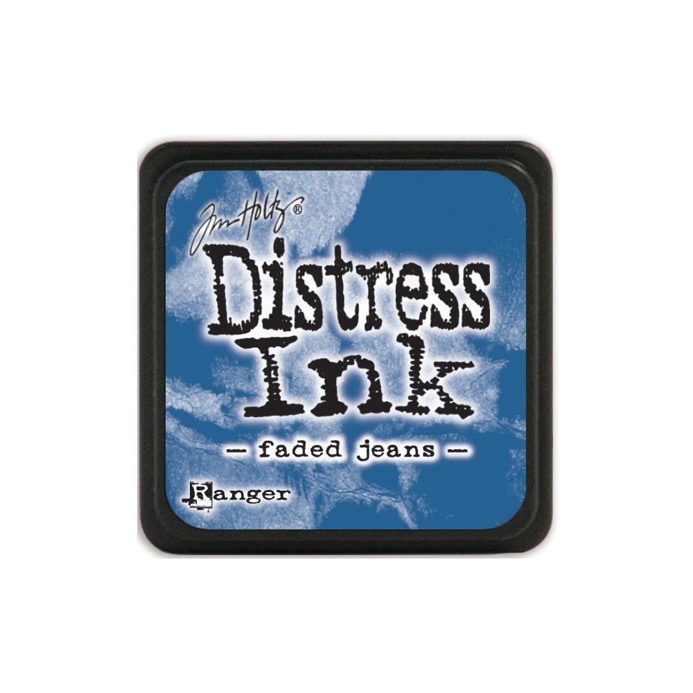 Ranger Tim Holtz Distress Mini Ink Pad FADED JEANS