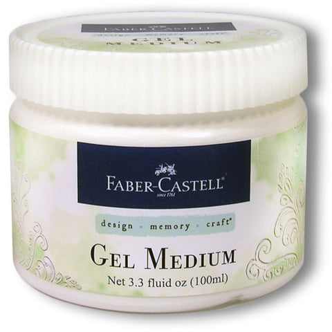 Faber Castell Gel Medium Jar 100ml