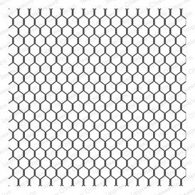 Impression Obsession - Cover-a-Card Chicken Wire