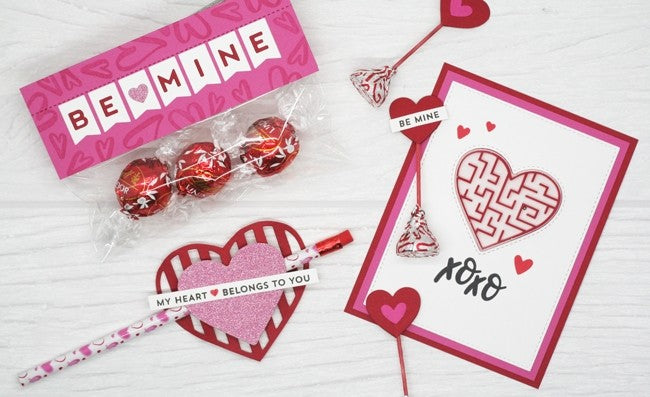 My Favorite Things - Die-namics Be Mine Banner