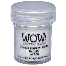 WOW Embossing Powder Regular 15ml - Opaque Seafoam White