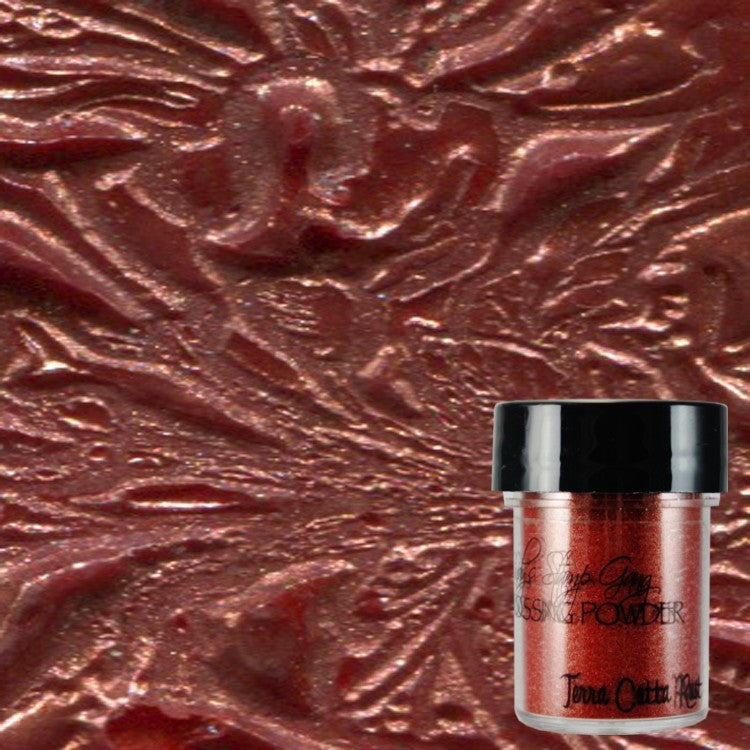 Lindy's Stamp Gang Embossing Powder - Terra Cotta Rust