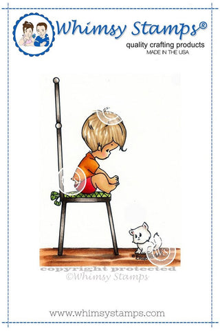 Whimsy Stamps - Cling Stamps - Tommy and Cleo