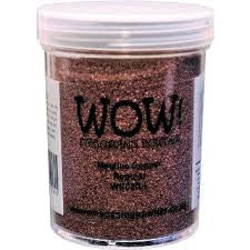 WOW Embossing Powder 160ml - Ultra High Metallic Copper  (Extra Large Jar)