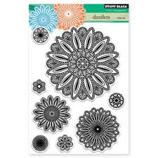 Penny Black Cling Rubber Stamp Sheet - Dazzlers