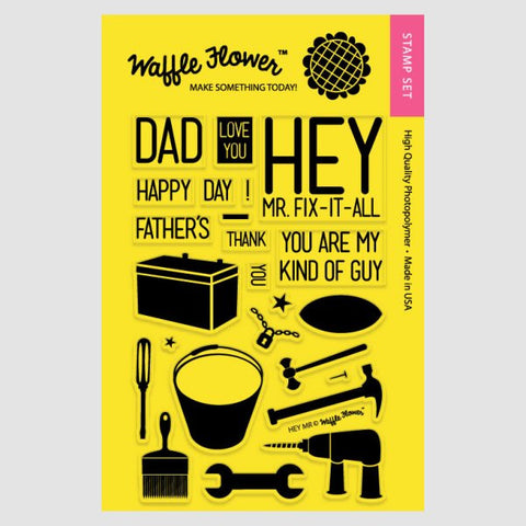 Waffle Flower - Hey Mr. Stamp Set