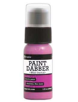 Ranger Acrylic Paint Dabber 1oz - Wild Orchid
