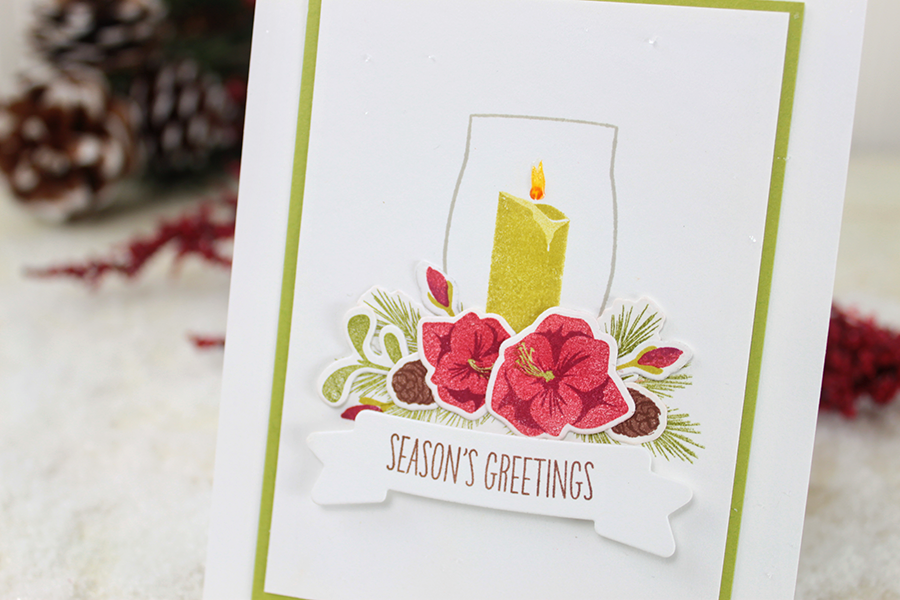 WPlus9 Design Studio - Merry & Bright Die Set (Coordinates with Merry & Bright Stamp Set)