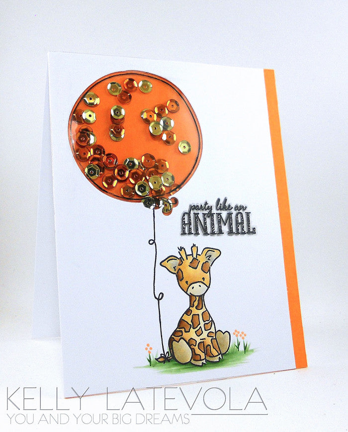 WPlus9 Design Studio - Party Animal Die Set (Coordinates with Party Animal Stamp Set)
