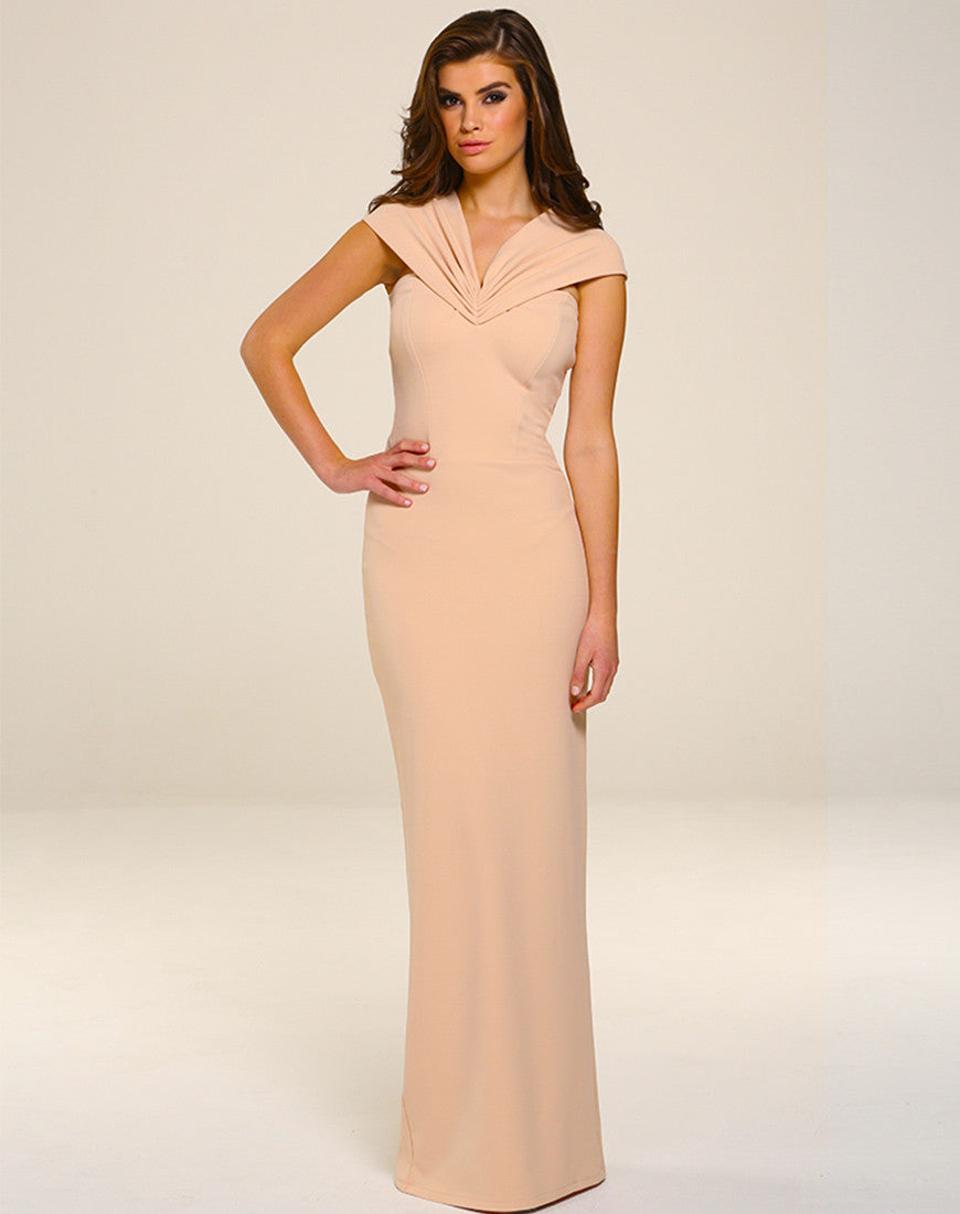 Dresses -  - Mila Maxi Dress - Blush - Honor Gold - 25Ten & Co Boutique - 2