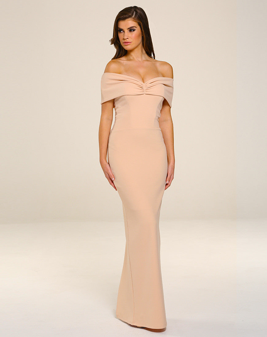 Dresses -  - Mila Maxi Dress - Blush - Honor Gold - 25Ten & Co Boutique - 3
