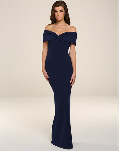 Honor Gold Dresses Mila Maxi Dress - Navy [product_tags] - 25Ten & Co Boutique
