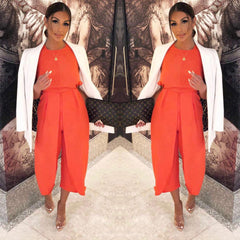 25Ten & Co Boutique Jumpsuits & Playsuits Tie Front Knot Jumpsuit [product_tags] - 25Ten & Co Boutique