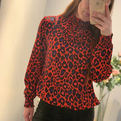 25Ten & Co Boutique Tops Animal Print Blouse [product_tags] - 25Ten & Co Boutique