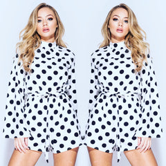 25Ten & Co Boutique Jumpsuits & Playsuits Poppy Polka Dot Playsuit [product_tags] - 25Ten & Co Boutique
