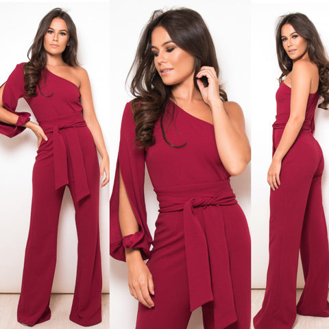 Mari One Sleeve Jumpsuit