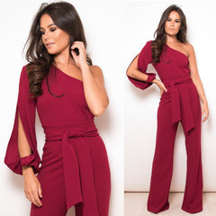 25Ten & Co Boutique Jumpsuits & Playsuits Mari One Sleeve Jumpsuit [product_tags] - 25Ten & Co Boutique