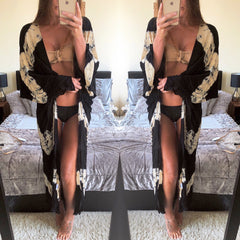 25Ten & Co Boutique Beachwear Kiss Tie Dye Kimono [product_tags] - 25Ten & Co Boutique