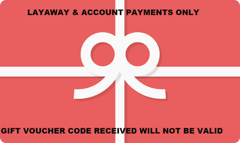 Layaway Account Payment