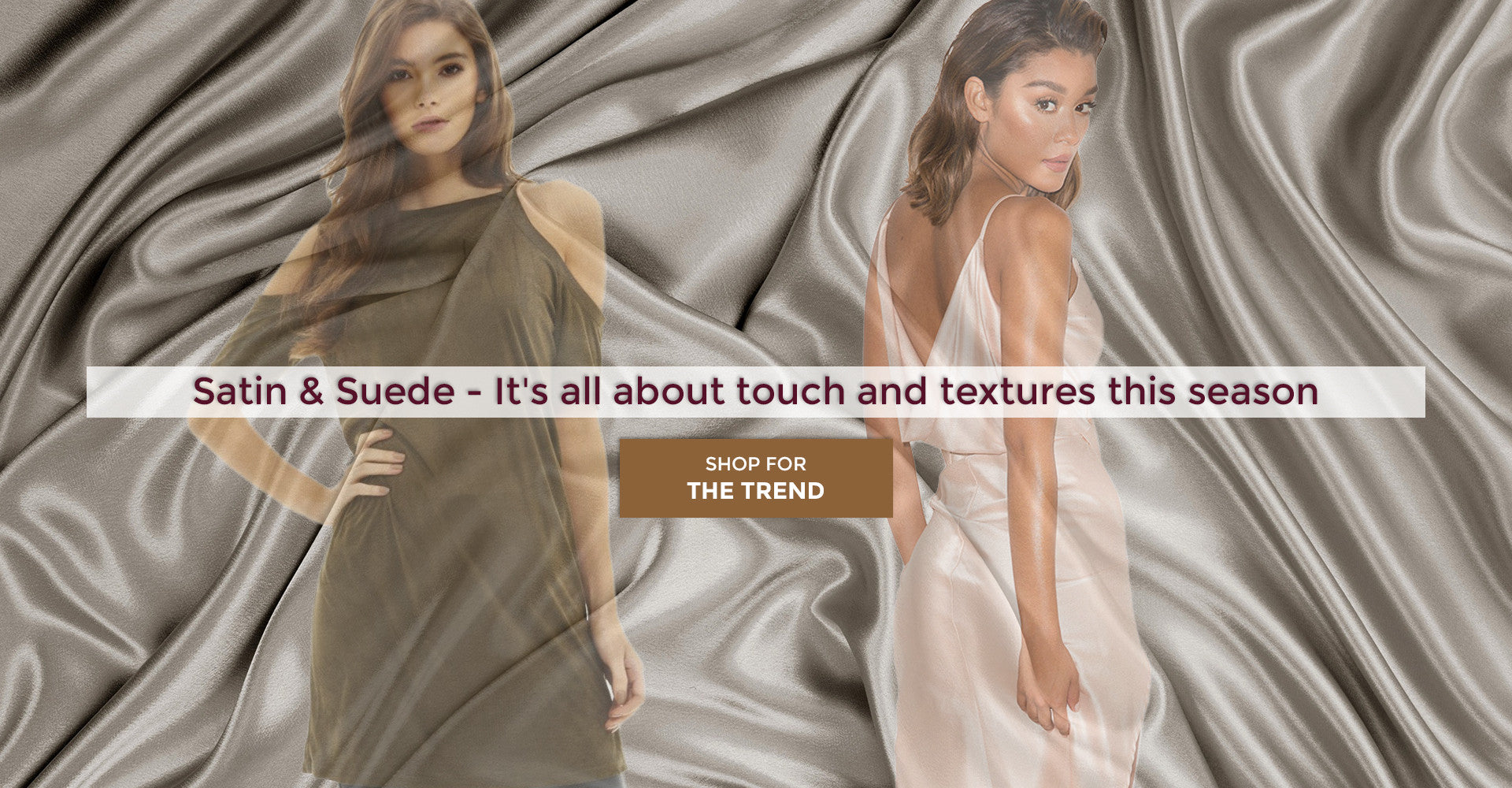Satin Fashion - Shop on Trend