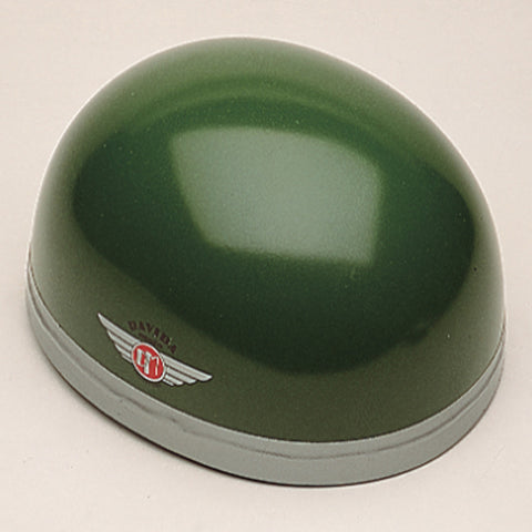 Davida Classic - British Racing Green - Davida Motorcycle Helmet