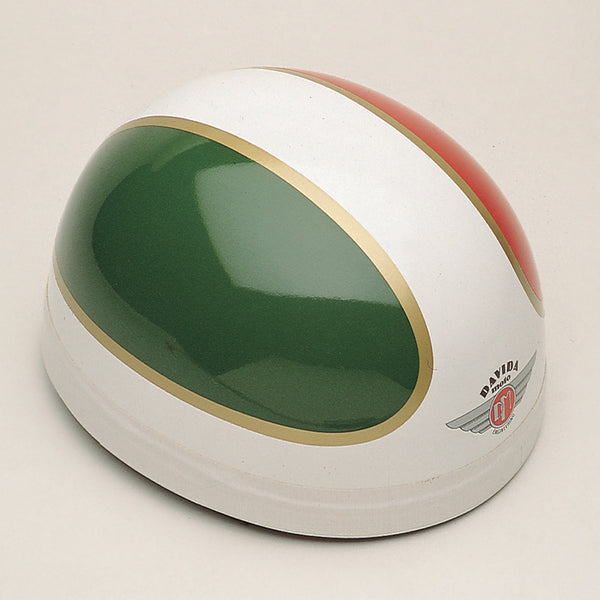 Davida Classic - TTDX Red/Green/Gold/White - Davida Motorcycle Helmet