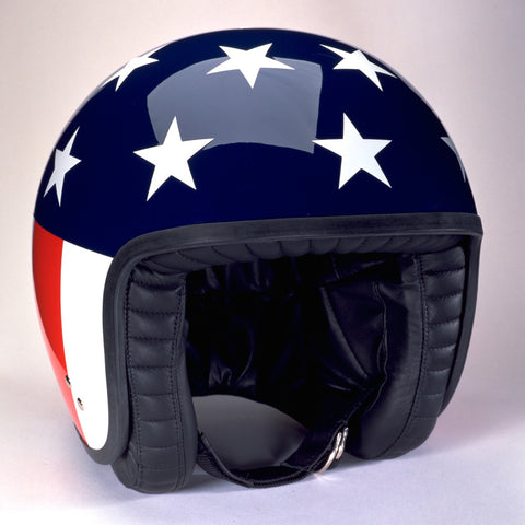 Davida Jet Helmet - Stars & Stripes - MOTORCYCLE GEAR 9MC